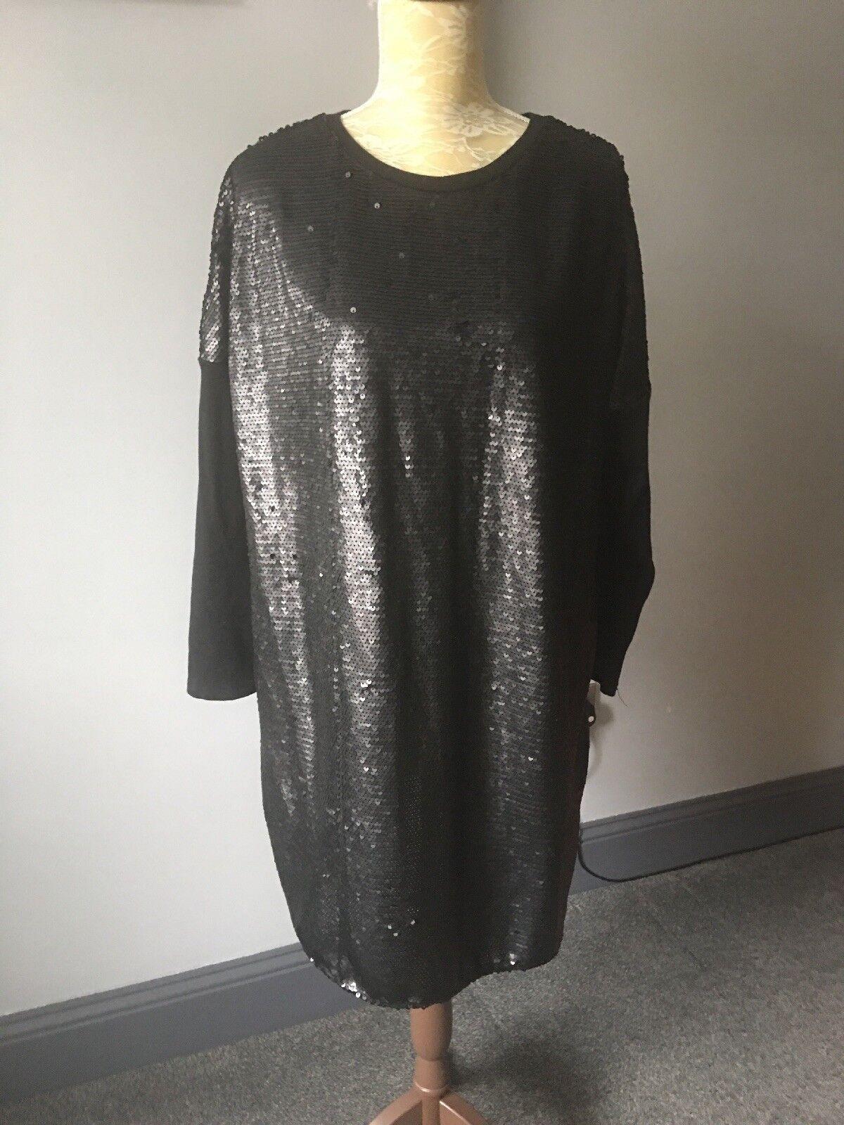 ️LADIESRIVER ISLANDSEQUIN DRESS16-18WORN ONCE