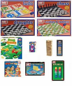 New Kids Range Traditional Board Games Childrens Family Games Toy