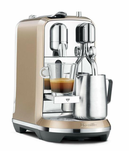 Breville Nespresso Creatista Espresso Maker - Champagne Brand NEW