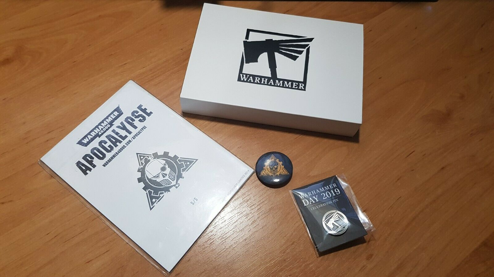 Limited Edition Warhammer jour 2019 objective Markers  Tokens & PINS  les ventes chaudes