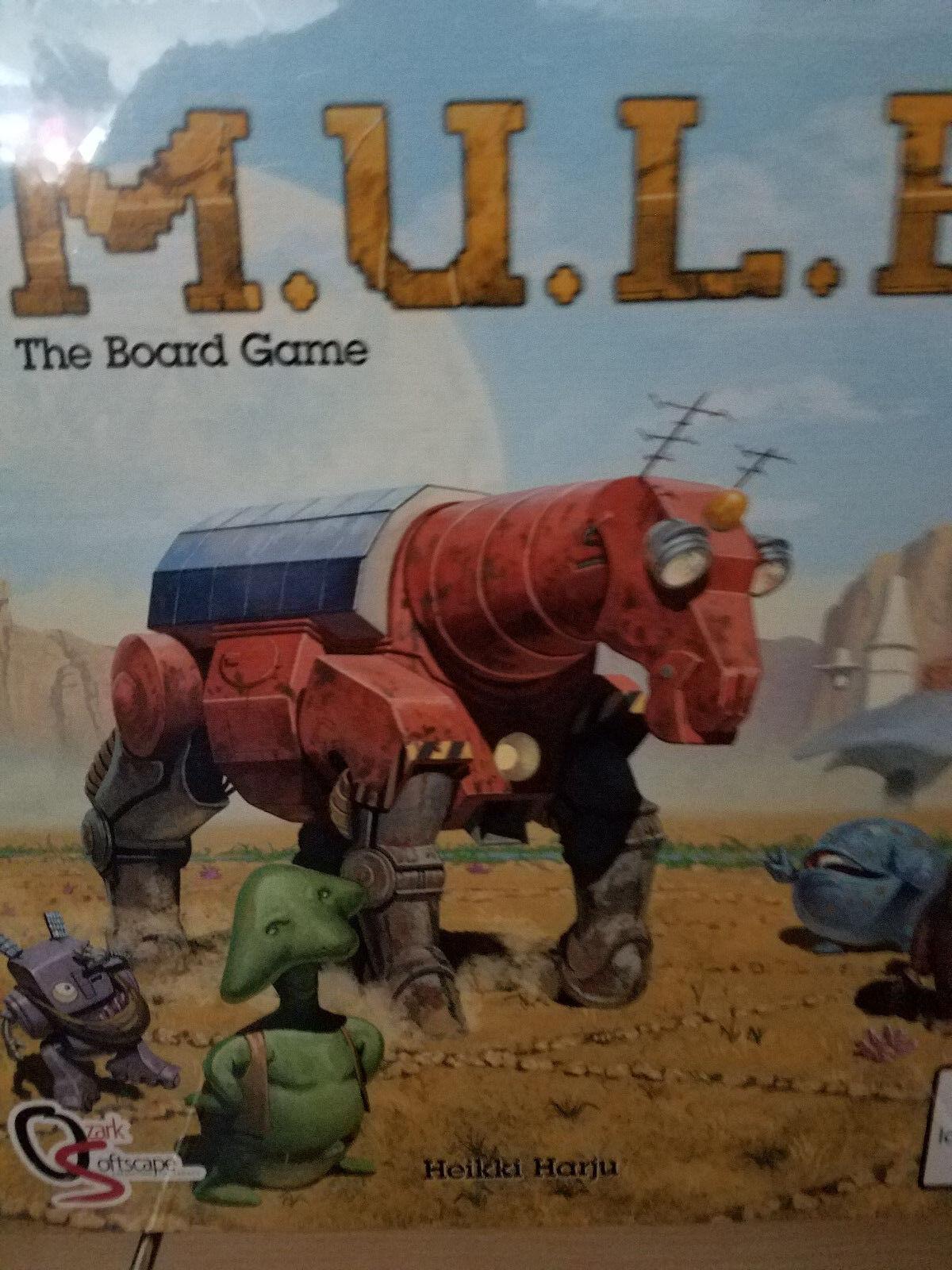 M.U.L.E. - The Board Game - Board Game Asmodai Games New NIB  MULE
