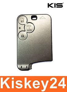 3Tasten Auto Schlüsselkarte Gehäuse Schlüssel für Renault Laguna 2 Espace 4