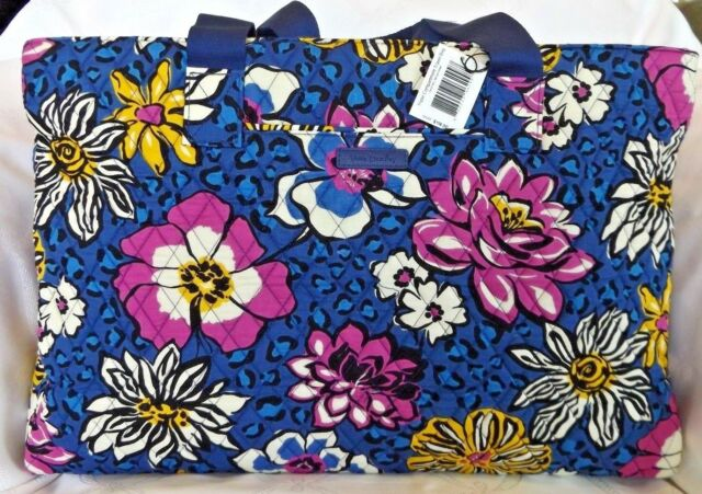 8725eeb0b0 VERA BRADLEY Triple Compartment Travel Bag AFRICAN VIOLET Weekend - New  with Tag