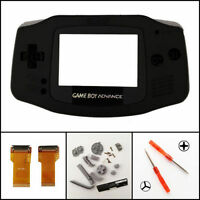 Nintendo Game Boy Advance Cable Frontlight Adapter Ags 001 Black Mod Kit