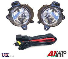 VW POLO 9N3 MK5 2006-2009 SPOT FOG LIGHTS LAMPS PAIR SET O/S & N/S + WIRING KIT