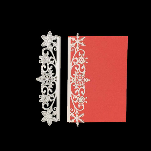 snowflake Cutting Die Scrapbooking Embossing Card Making Paper Craft Die S/&K