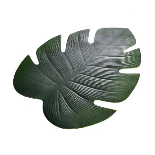 Grün Lotos Blatt Design Isoliert Tisch Platzdeckchen bar Place Matten