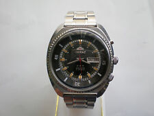Rare ORIENT KING DIVER AUTOMATIC STEEL MENS wristwatch 80s JAPAN Made