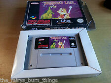 Dragons Nascondiglio SNES NINTENDO PAL Boxed SUPER