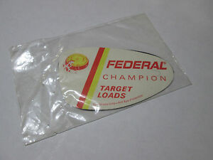 Vintage-Federal-Champion-Targets-Loads-Eye-Shade-pair