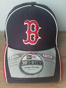 8b7b4c35cab2c Boston Red Sox New Era MLB 39THIRTY Team Classic Stretch Flex Cap ...