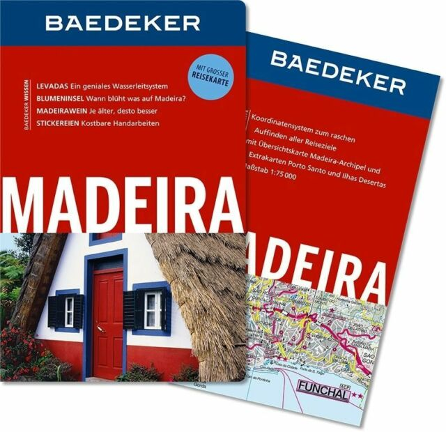 Baedeker Reiseführer Madeira: mit GROSSER REISEKARTE 11. Auflage 2014