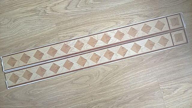 Westco Timberstyle Self Adhesive Vinyl Flooring Border 4 Packs Ebay