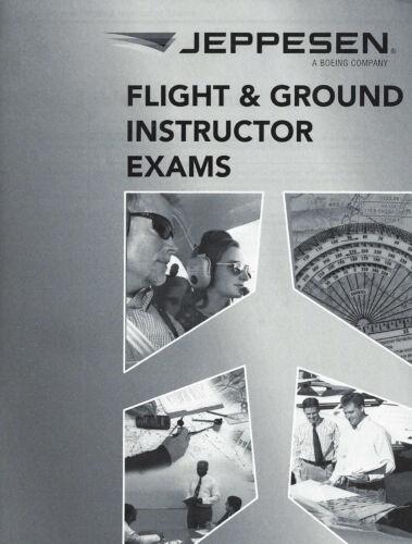 Jeppesen Flight /& Ground Instructor Exam Package 10692817-000