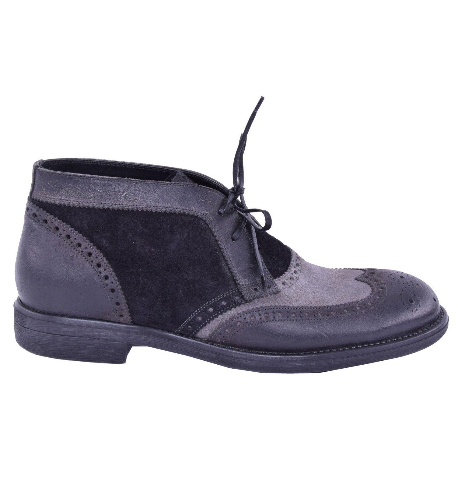 Dolce & gabbana bicolor boots black grey shoes boots shoes 03819