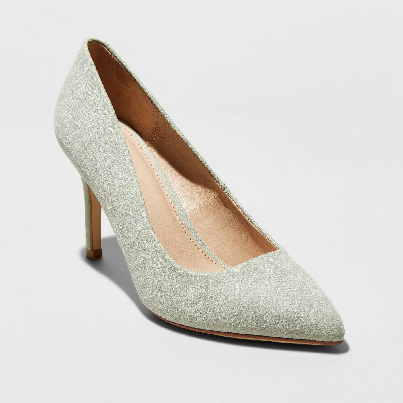 Women's Gemma Pointed Toe Pumps - A Size New Day Mint Green Size A 10 892fe5