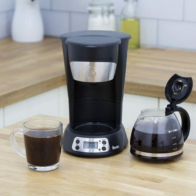 Swan SK13130N 700W Coffee Maker - Black RRP £39.99 (p1/85)