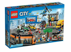 NIB-LEGO-City-Town-Square-60097-New-in-sealed-box