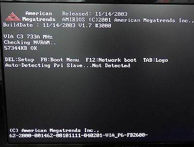 686 AMIBIOS NETWORK DRIVERS UPDATE
