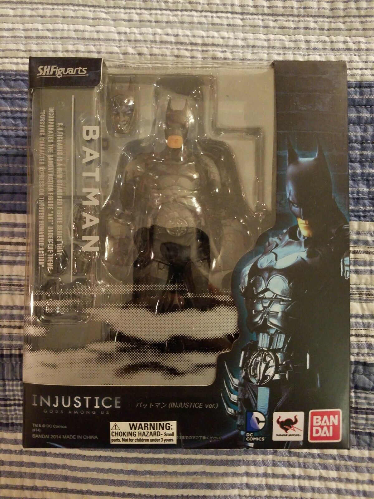 S.H. Figuarts Injustice Batman Action Figure Brand New