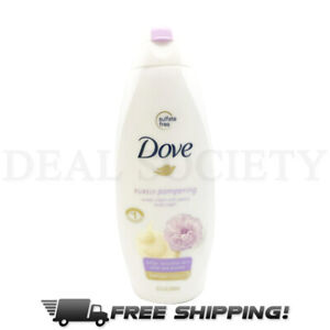Dove Purely Pampering Nourshing Body Wash Sweet Cream Peony 22 Fl Oz Each 11111527201 Ebay