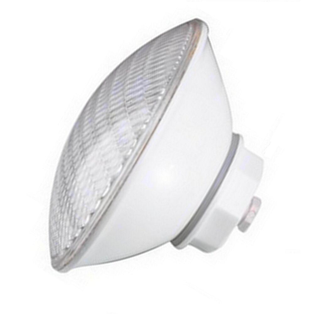 LED Pool Scheinwerfer PAR56 12V 33W normalweiss/pure Weiß PVC Verschlusskappe