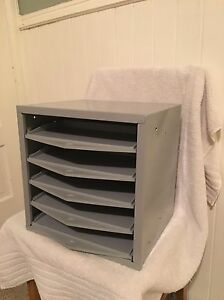 Image Is Loading Hillman Hardware Parts Storage Cabinet 5 Drawers Steel
