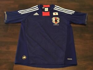 ADIDAS-CLIMACOOL-JFA-JAPAN-NATIONAL-SOCCER-JERSEY-YOUTH-MEDIUM-11-12-PREOWN