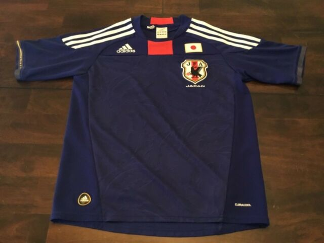 ADIDAS CLIMACOOL JFA JAPAN NATIONAL SOCCER JERSEY ( YOUTH MEDIUM 11-12 ) PREOWN