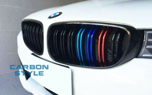 Metal M-color Glossy Black Front Grille For 14-18 BMW F34 335i GT 328i GTxDrive