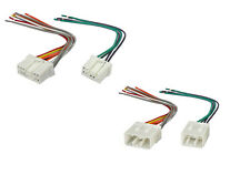Aftermarket Radio Stereo Wire Wiring Harness Male Female Set Mazda 89 & 02