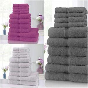 LUXURY-10-PIECE-TOWEL-BALE-SET-100-PURE-EGYPTIAN-COTTON-FACE-HAND-BATH-TOWELS