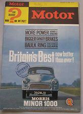 Motor magazine 14/8/1963 featuring SAAB 96 road test
