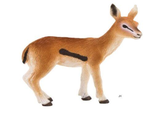 Thomson Gazelle Veau 5 cm Animaux Sauvages Mojo 387123
