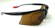 KONTROL SPORTS Gelshock Amber Prescription Sunglasses
