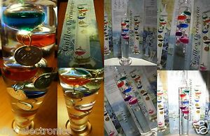 Galileo-Thermometer-ATTRACTIVE-SCIENTIFIC-Thermometer-Colorful-Glass-Baubles