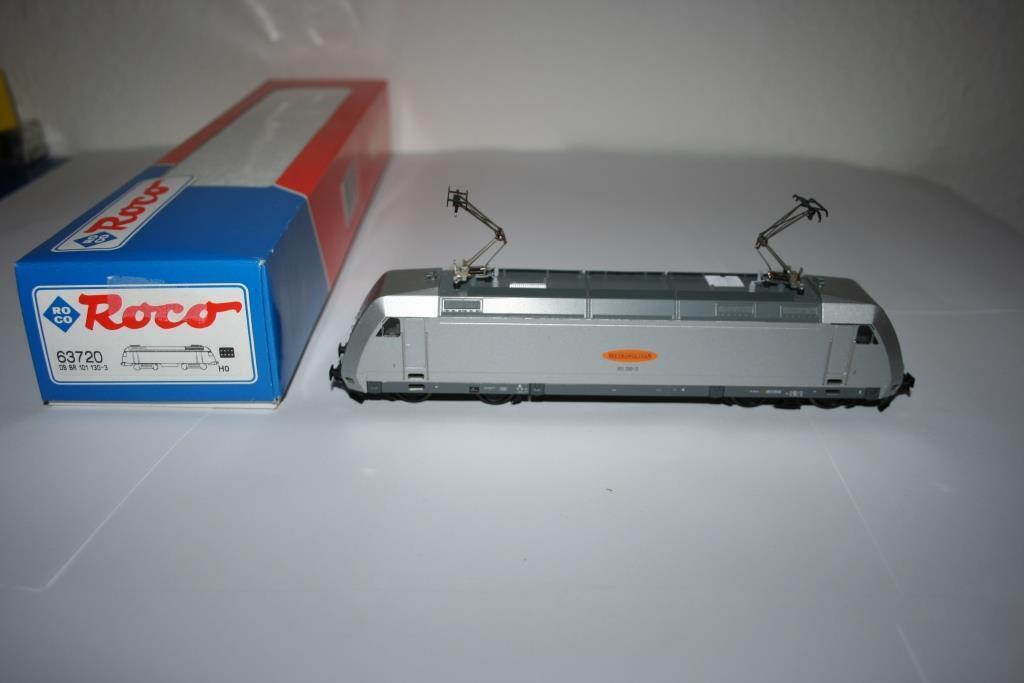 Roco Spur H0  63720 Elektrolokomotive BR 101 METROPOLITAN, OVP    Billiger als der Preis