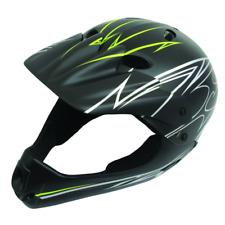 6dd2ff4ecb4 ETC Bicycle Cycle BMX MTB Mountain Bike Kids Stunt Full Face Helmet Lid  Black