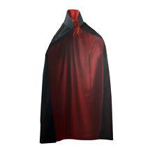 Black//purple Accessory For Superhero Super Hero Fancy Hooded Cape Reversible