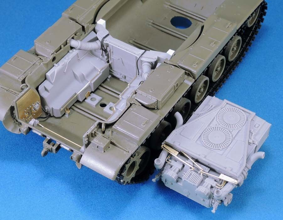 Legend LF1341 AVDS-1790 Engine & Compartment Set for AFV Verein M60 serie in 1 35