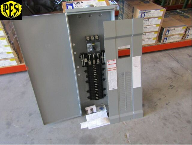 Square D Qo342mq200rb Load Center 200 Amp 3 Phase 240v Main Breaker 3r For Sale Online Ebay