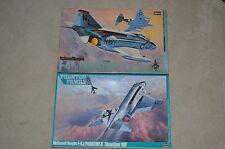 1/48 HASEGAWA VINTAGE F-4B/N & F-4J PHANTOM IIs  Kits #P5 & P1