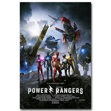 POWER RANGERS MOVIE Art Silk Poster 12x18 24x36
