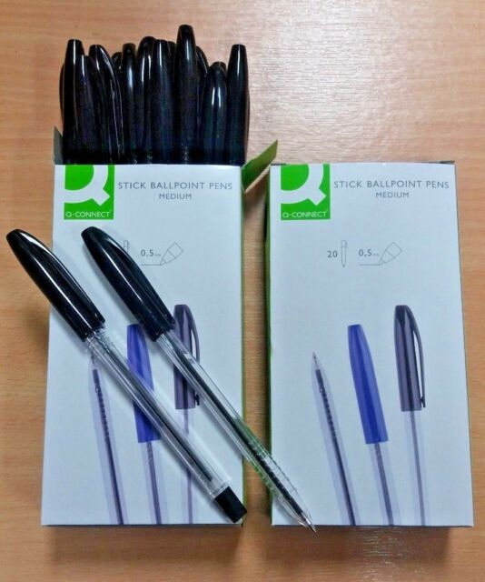 Q-Connect Ballpoint Pen Refill Blue Pack of 10