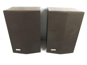 Vintage-Kenwood-LS-403-Speakers-2-Way-Speaker-System-Old-School-Large-Bookshelf