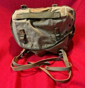 Vietnam-War-Era-Canvas-Bag-Used-Australian-Military-Issued-1970s-Authentic