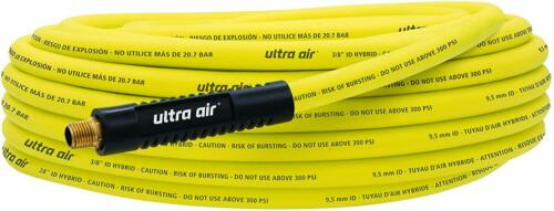Amflo 575-50A Non-Kinking Ultra Air Hybrid Air Hose 3//8Quot; X 50/', 300 Psi