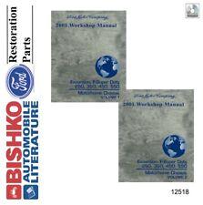 2000 Ford Excursion F250HD F550 Motorhome Shop Service Repair Manual CD