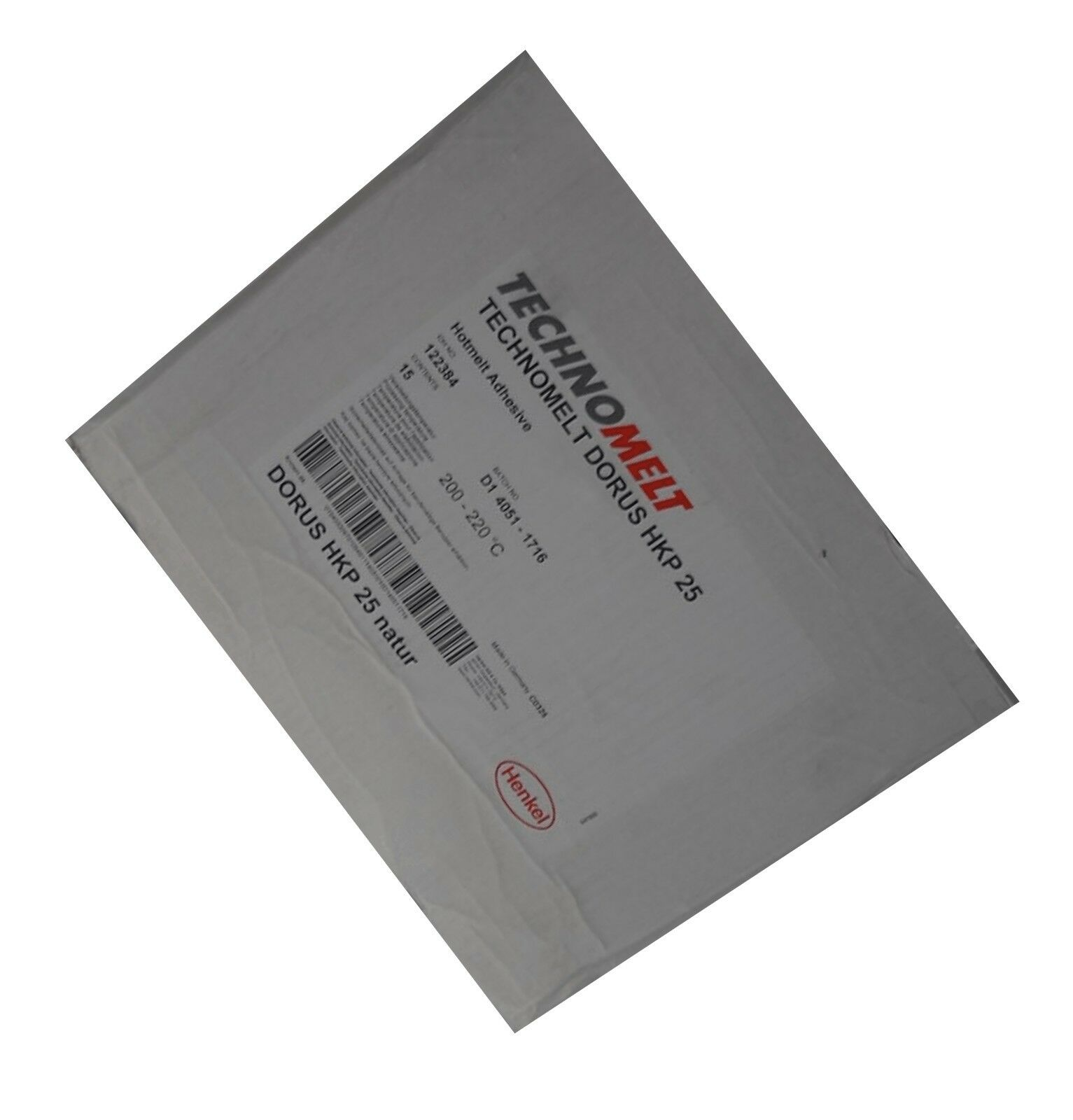 Technomelt Dorus HKP 25 15kg Schmelzklebstoff natur Kantenumleimer Patronen