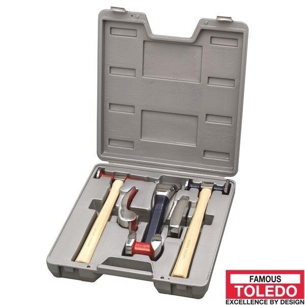 TOLEDO Panel Beating Kit - 6 Pc. 313001